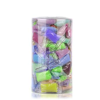 Одноразовые трусы (стринги) для проведения массажа и спа-процедур, в тубусе, 50 шт (микс из 14 цветов)