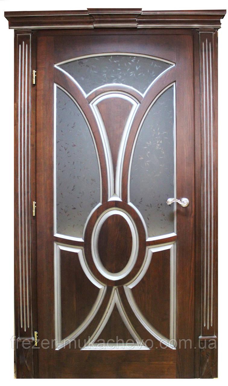 Двері міжкімнатні з масиву, серія Лестер