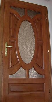 Двері міжкімнатні  з масиву, серія  Лісабон