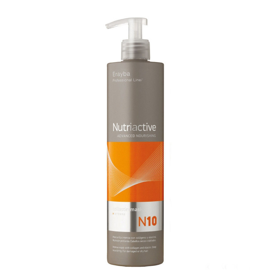 Маска для волосся інтенсивна живильна з колагеном і еластином Erayba N10 Collastin Nourishing 500 мл