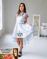 Детское платье туника с вышивкой 4-6  и 7-9 лет
