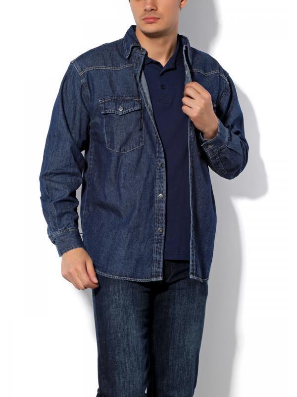 Мужская джинсовая рубашка Montana 11058 размер М
