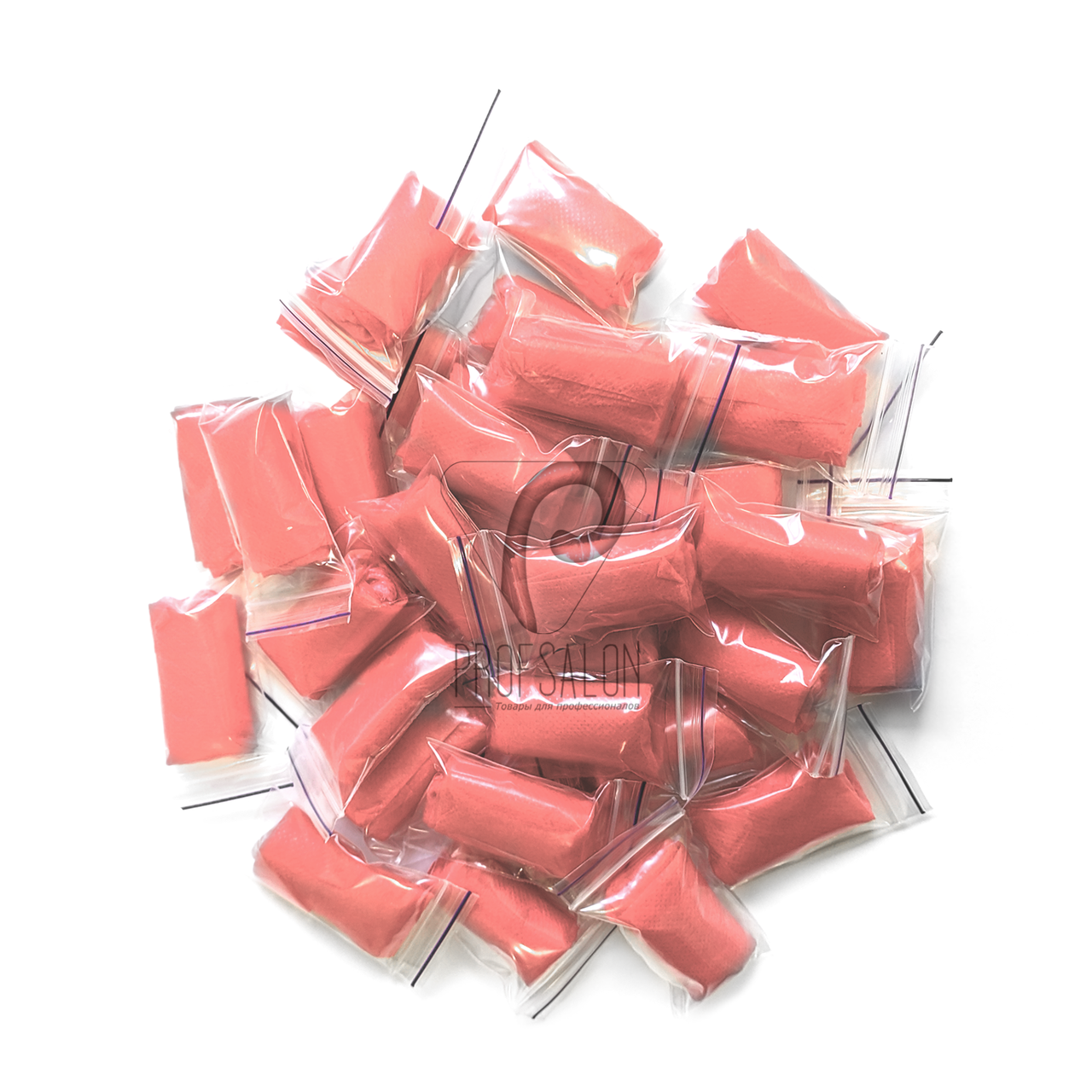 Трусики стринги одноразовые женские для процедур 50 шт (кораловые)