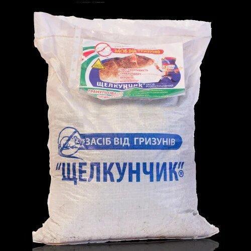 Родентицид Щелкунчик 10 кг зерно