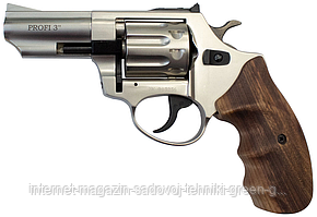 """Револьвер Profi 3"""" (сатин) рукоять дерево"""