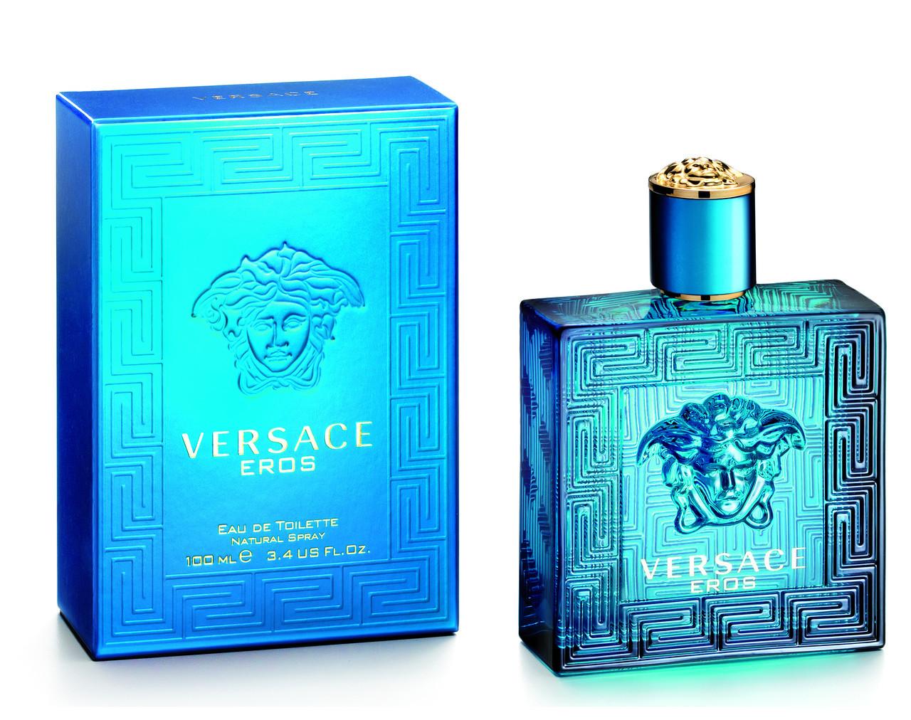 Туалетна вода чоловіча Versace Eros, 100 мл ПОМ'ЯТА УПАКОВКА