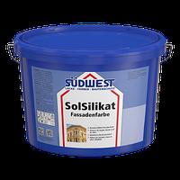 Фасадная краска Зюдвест Сол Силикат силикатная SolSilikat | SUDWEST 12,5 л