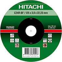 Диск отрезной для кирпича и бетона 125х3,0х22,2 Hitachi / HiKOKI 752532, фото 1