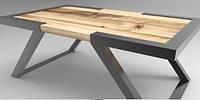 Кофейный журнальный стол в стиле LOFT (NS-464)