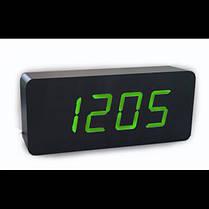 Часы электронные цифровые VST 865 с зеленой подсветкой