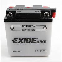 Аккумулятор Exide 6V 6AH/30A (6N6-3B-1)