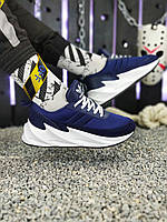 Мужские кроссовки Adidas Sharks Blue/White. [Размеры в наличии: 42,43,44,45], фото 1