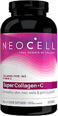 Neocell Super Collagen+C Type 1 & 3 (360 таб.)