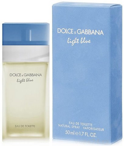 Туалетна вода жіноча Dolce&Gabbana Light Blue, 100 мл ПОМ'ЯТА УПАКОВКА