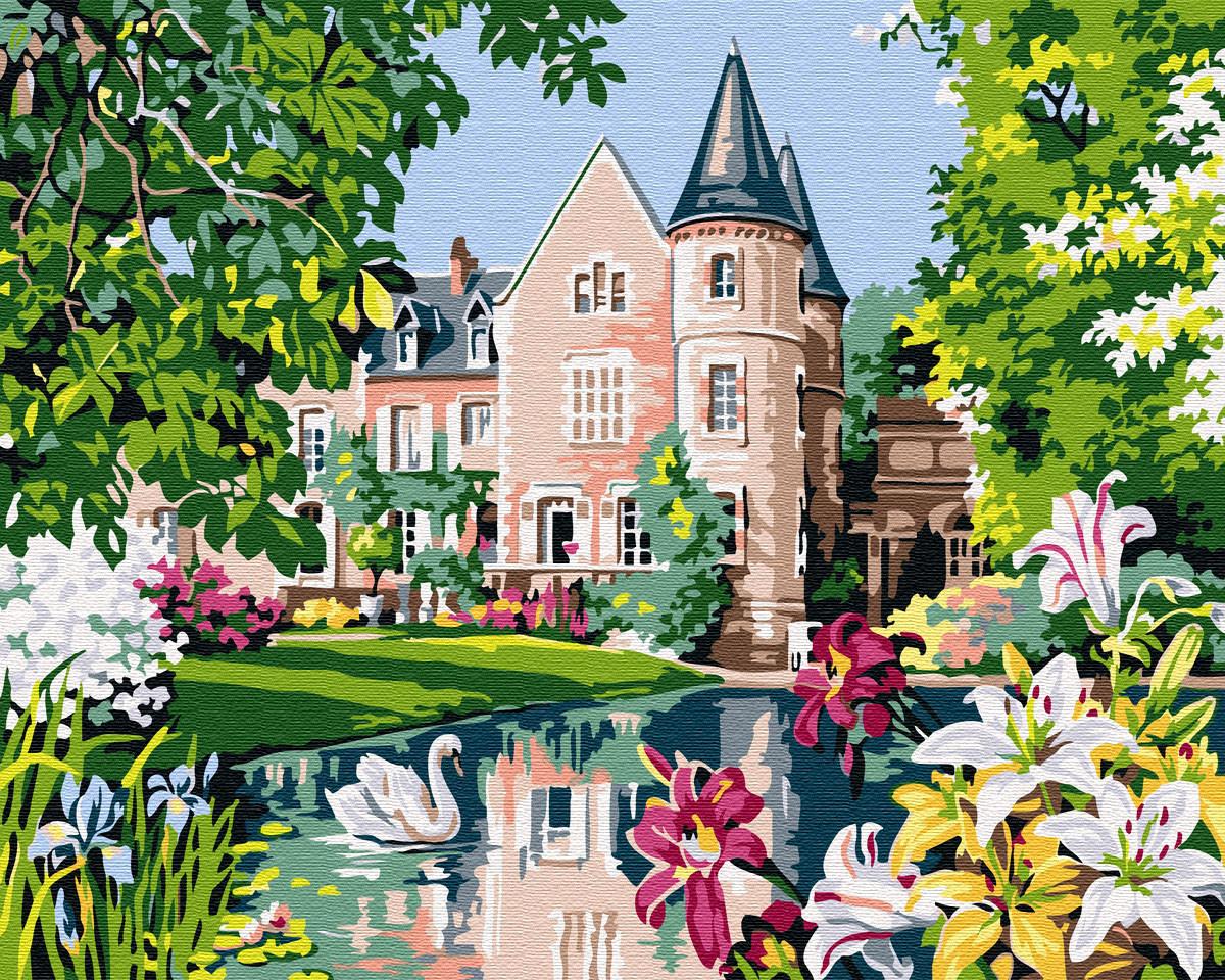 Картина по номерам Сказочный домик (BK-GX32010) 40 х 50 см (Без коробки)