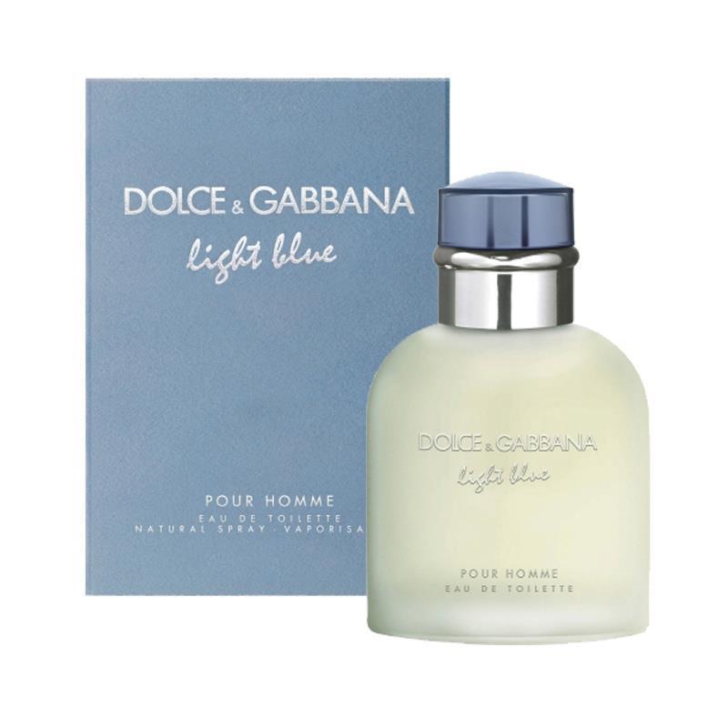 Туалетна вода чоловіча Dolce&Gabbana Light Blue Pour Homme, 125 мл ПОМ'ЯТА УПАКОВКА