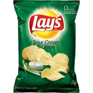 Чипсы Lay's Sour Cream & Onion 28,3 g