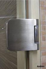 Дверь для сауны стеклянная ANDRES PREMIUM, фото 2