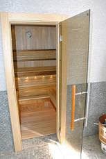 Дверь для сауны стеклянная ANDRES PREMIUM, фото 3