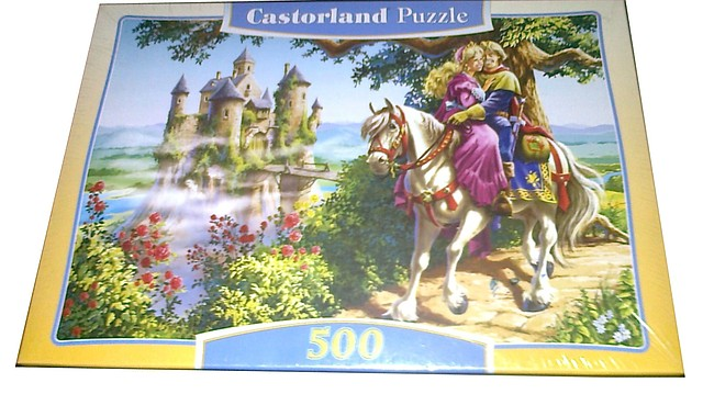 Пазлы castorland 500 деталей  В-51151