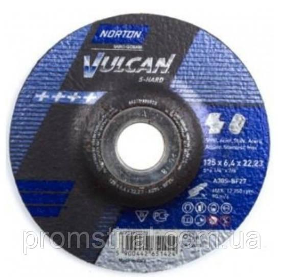 Зачистные круги по металлу Norton 125х6.4х22,23