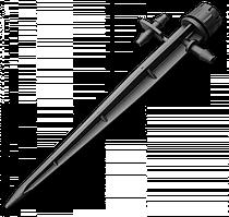 Ороситель регулируемый линейный на колышке 360° (3 шт), DSZ-1403
