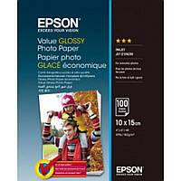 Бумага EPSON 10х15 Value Glossy Photo (C13S400039)