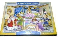 Пазлы castorland 500 деталей Принцесса на горошине