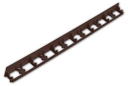Бордюр газонный универсальный RIM-BORD BROWN 45x1000мм, коричневый, OBRBR45