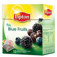 Чай Lioton Blue Fruit (черный фруктовый в пирамидках) 20х1,8 г.