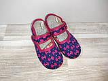 Тапочки на девочку Чернигов 14.5-16.0 р   арт 0115 разные цвета., фото 2