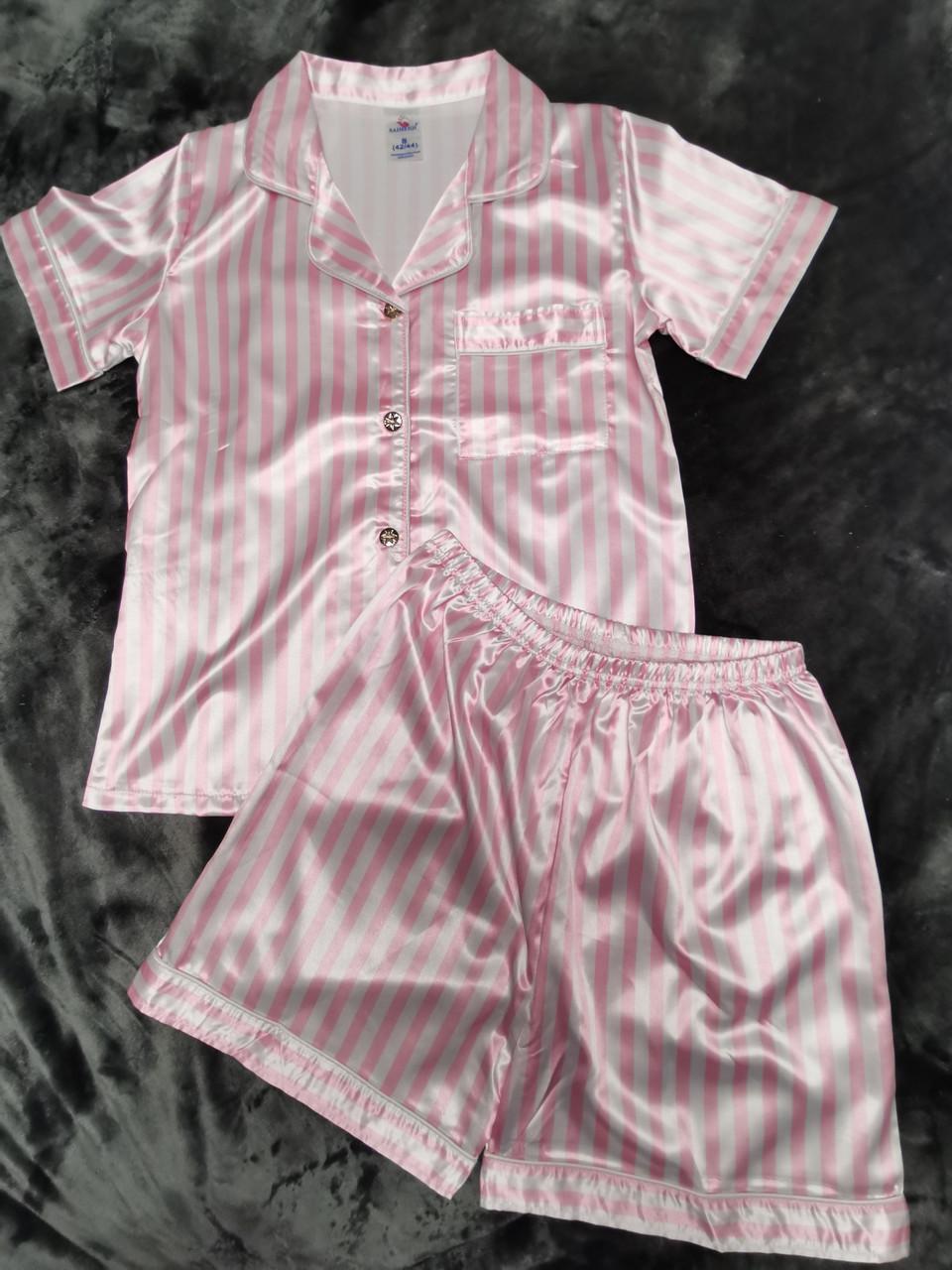 Атласная пижама 88-8