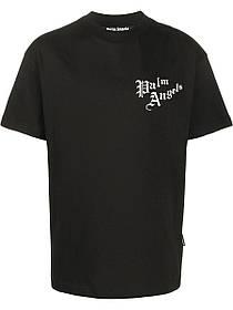 Футболка чорна Palm Angels Fashion from HIRSHLEIFERS • Палм Анджелс футболка