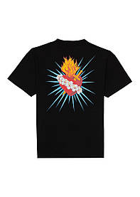 Футболка чорна Palm Angels Fashion • Палм Анджелс футболка