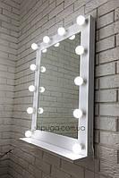 """Зеркало с подсветкой 60*80см  """" Мики """" с полочкой"""