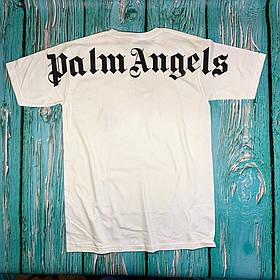 Футболка біла Palm Angels Back • Палм Анджелс футболка