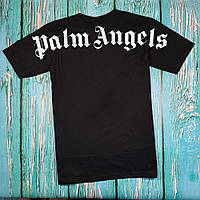 Футболка чёрная Palm Angels Back • Палм Анджелс футболка