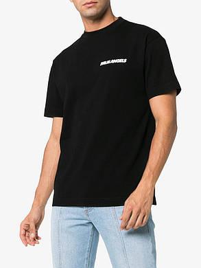 Футболка чёрная Palm Angels car crash • Палм Анджелс футболка, фото 2