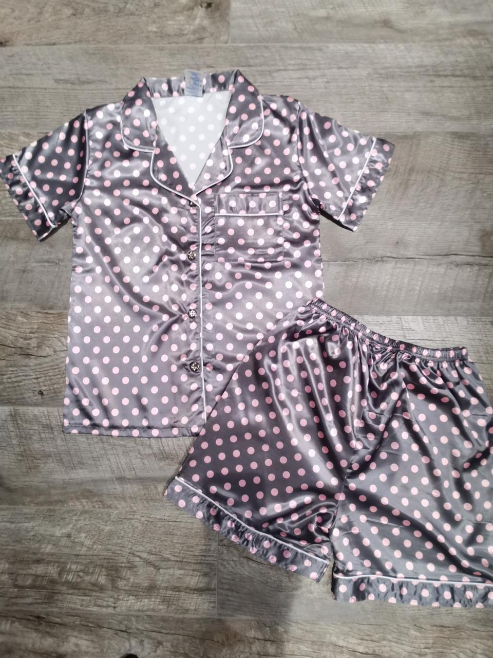 Атласная пижама 88-10