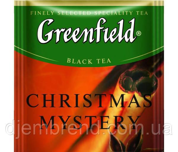 """Чай черный пакетированный Greenfield """"Christmas Mystery"""" Корица 100шт  HoReCa в полиэтиленовом пакете"""