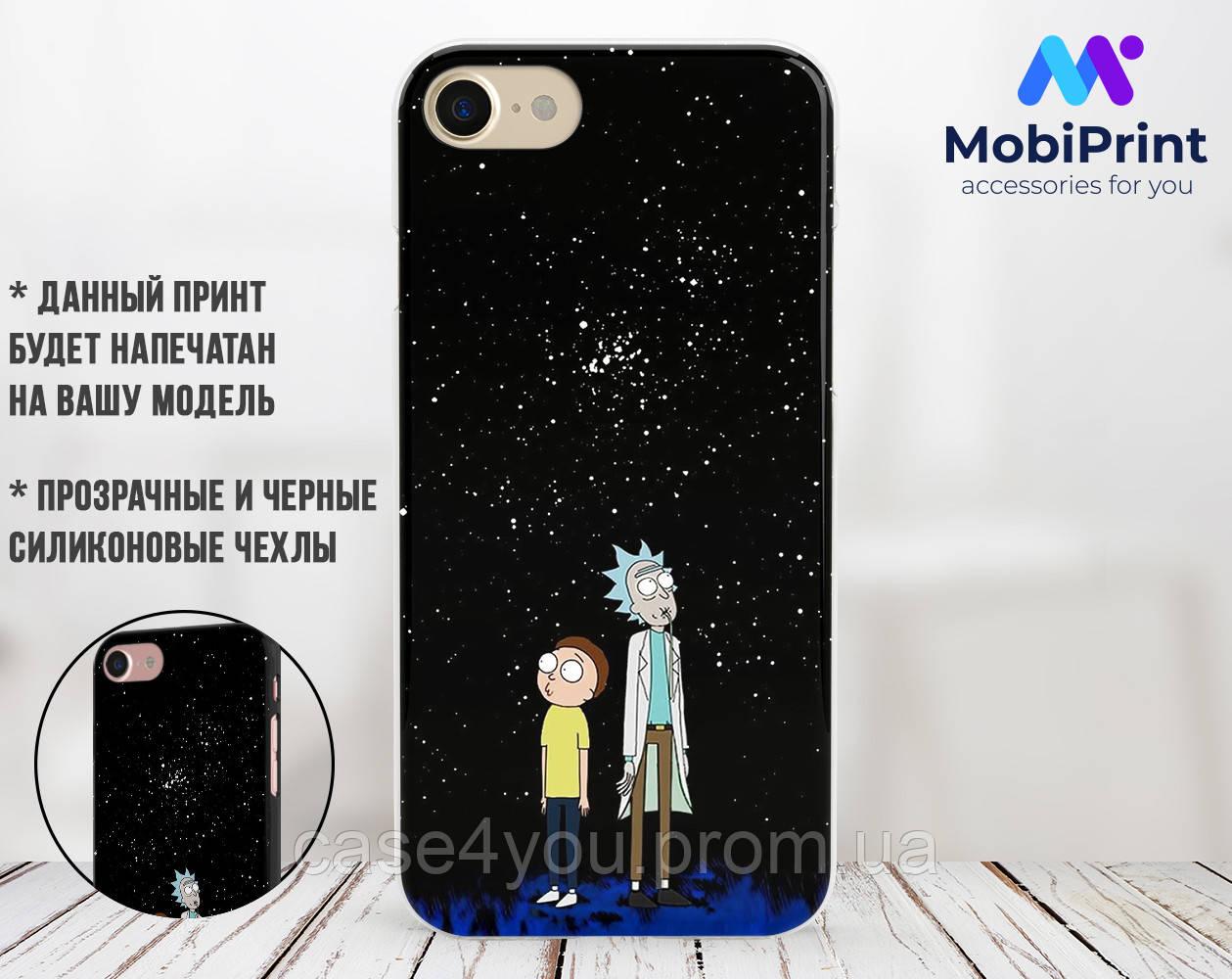 Силиконовый чехол для Apple Iphone 11 Рик и Морти (Rick and Morty) (4027-3414)