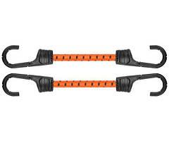 Резиновый шнур с крючками, 2 х 60см, PVC BUNGEE CORD HOOK