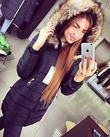 Женская демисезонная куртка (черная, изумрудная), фото 1