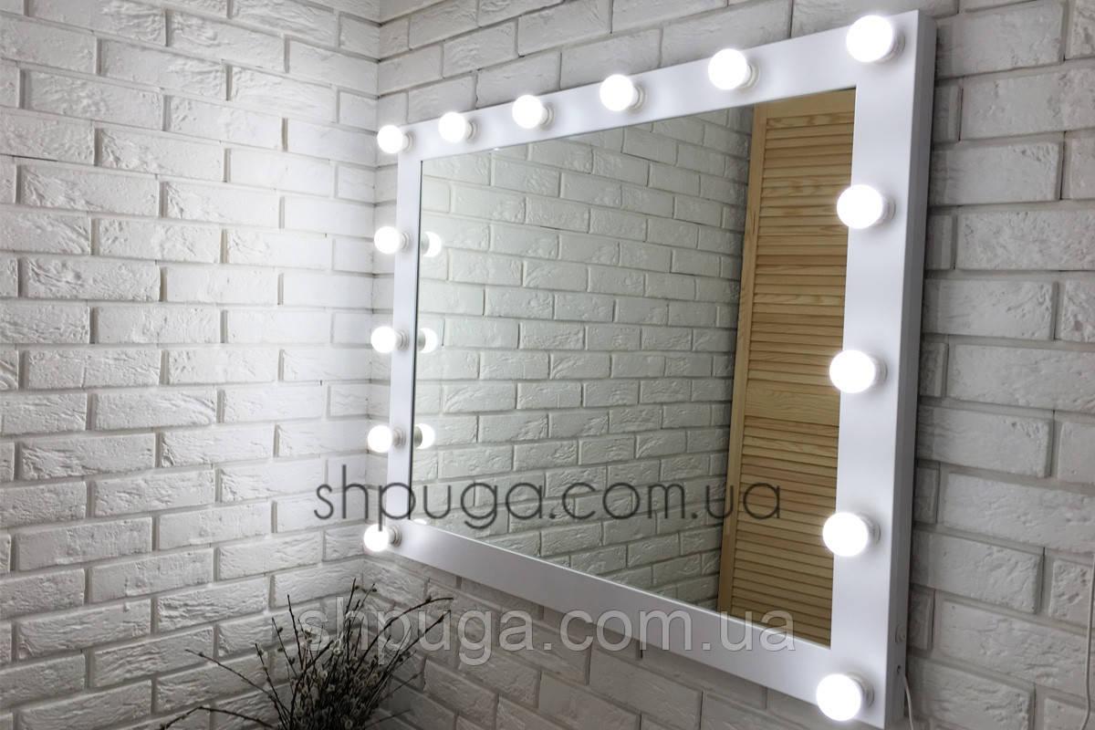 """Зеркало с подсветкой  100*80 см """" Вуди """""""