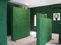 Декоративный Зеленый Забор (сетка-рабица с декоративным ПВХ покрытием), фото 1