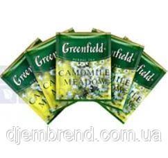 """Чай травяной пакетированный Greenfield """"Camomille Meadow"""" Ромашковый луг 100шт HoReCa в полиэтиленовом пакете"""