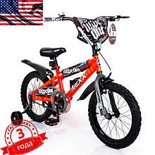 Детский Американский  Велосипед NEXX BOY-16 Orange Splash