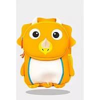 Рюкзак дошкольный TOCHANG Пингвин оранжевый водонепроницаемый ультралегкий ремень безопасности система AIR MAX  унисекс 3-7 лет