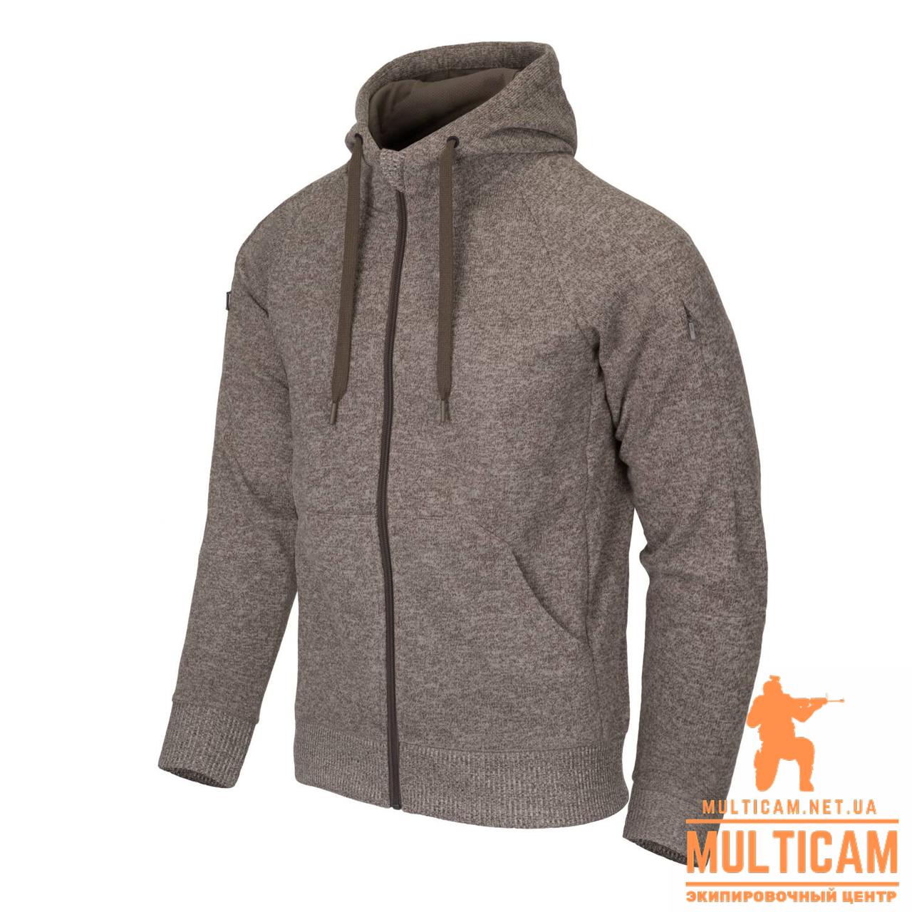 Кофта худи Helikon-Tex® Covert Hoodie (FullZip)® - Light Tan Melange