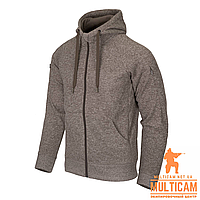 Кофта худі Helikon-Tex® Covert Hoodie (FullZip)® - Light Tan Melange